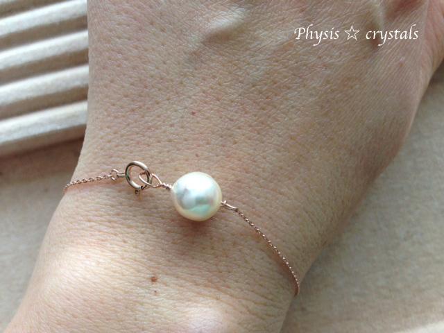 あこや真珠のブレスレット